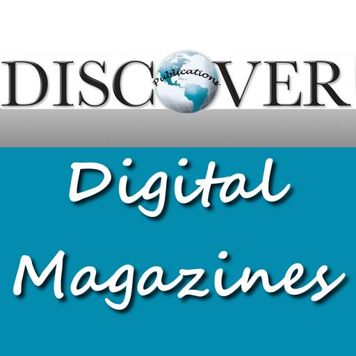 Discover the Region Magazines LOGO-APP點子