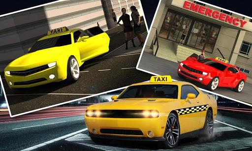 City Taxi Car Duty Driver 3D