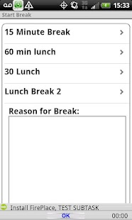 Timecard GPS LITE- screenshot thumbnail
