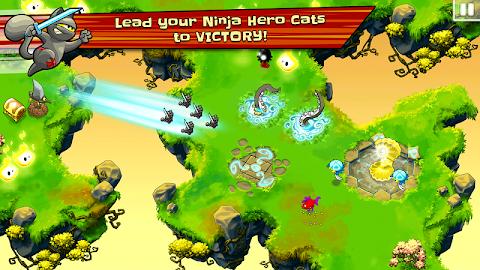 Ninja Hero Cats Screenshot 11