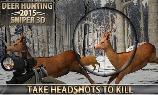 鹿狩猎 - 狙击手3D