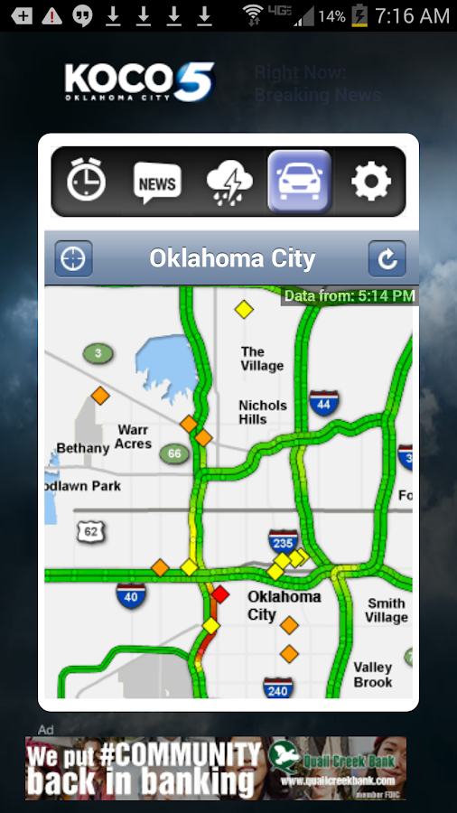 Alarm Clock KOCO 5 Okla City - screenshot