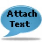 AttachText