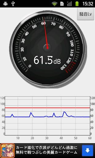 騒音計アラート - 騒音測定器