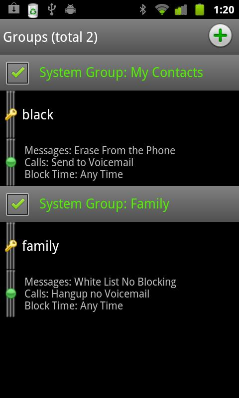 Extreme Call Blocker Invisible - screenshot