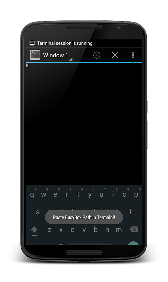 BusyBox Install Pro (No Root)- screenshot