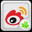 新浪微博 GO桌面小部件 icon