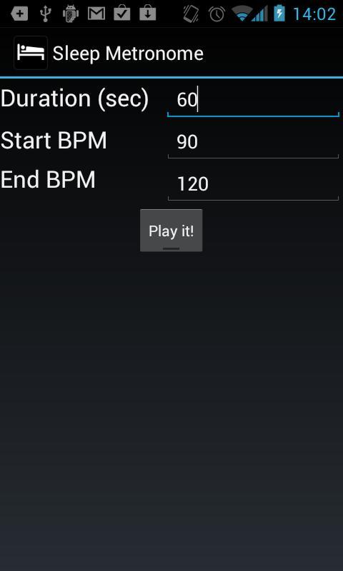 Sleep Metronome- screenshot