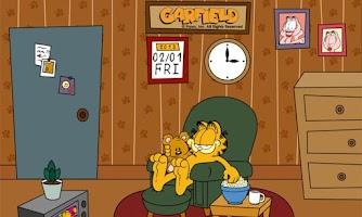 Screenshot of Home Sweet Garfield Live WP