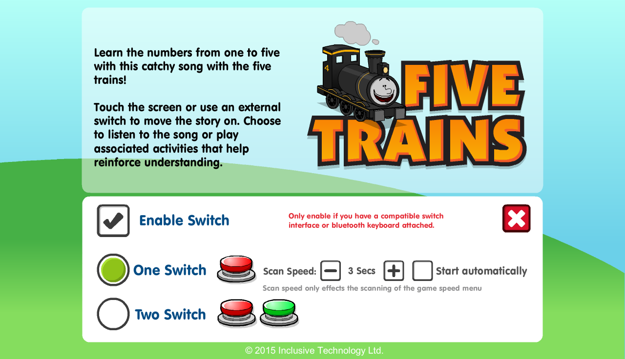 Five Trains- screenshot