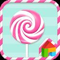 Loli-loli-lolipop dodol theme icon