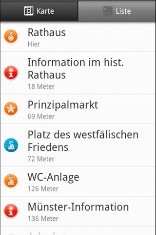 Audioguide Münster- screenshot
