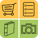 2in1 Recipe and Shopping list icon