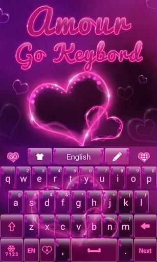 Amour Go Keyboard Theme