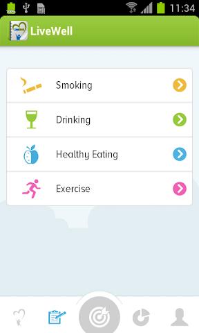 Screenshots for LiveWell