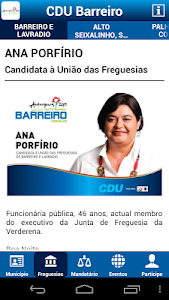 CDU Barreiro screenshot 3