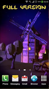 Paper Windmills 3D Free lwp screenshot