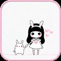 Bongja White go locker theme icon