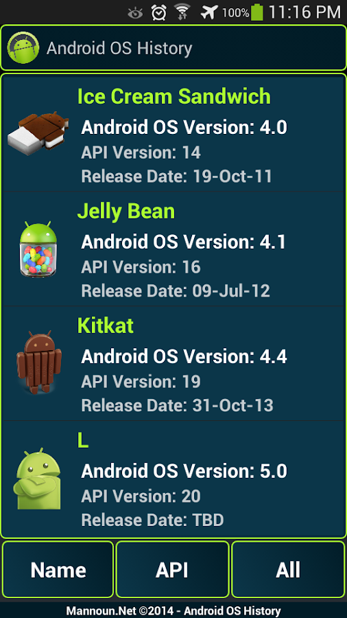 Version History Of Android Os Android Apps On Google Play
