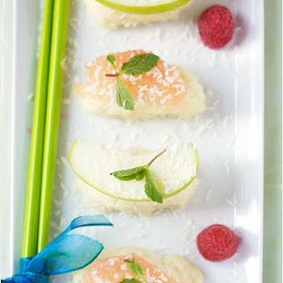 Fruit Sushi.