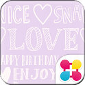 Cute Theme-L♡VE- icon