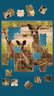Zvířata Puzzle Hra Pro Děti - náhled
