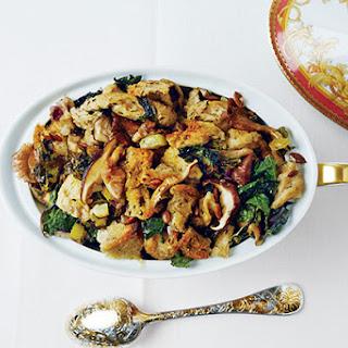 Rye, Kale, Mushroom, and Pumpkin Seed Stuffing