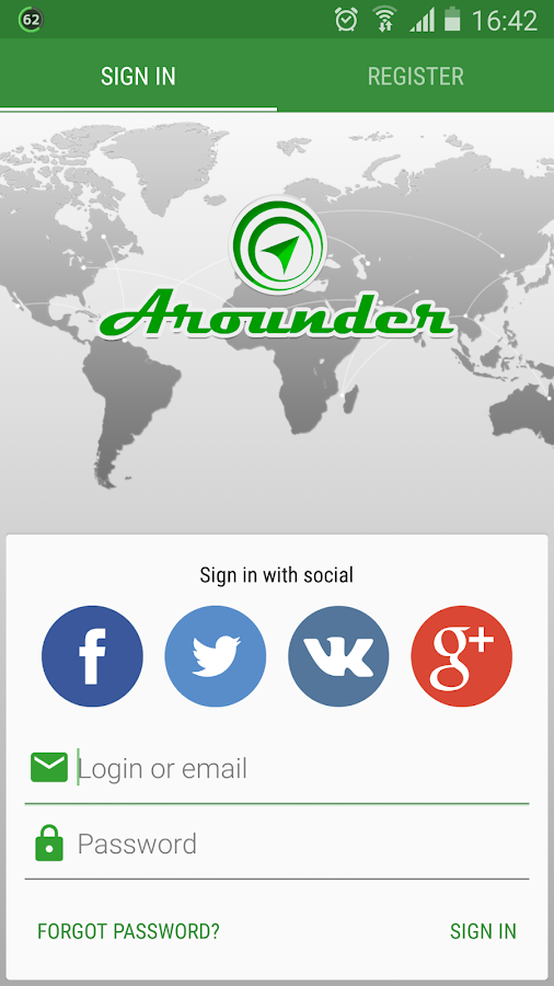 Arounder: The World around - screenshot