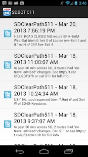 SDDOT 511 - screenshot thumbnail
