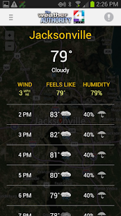 WJXT: The Weather Authority - screenshot thumbnail
