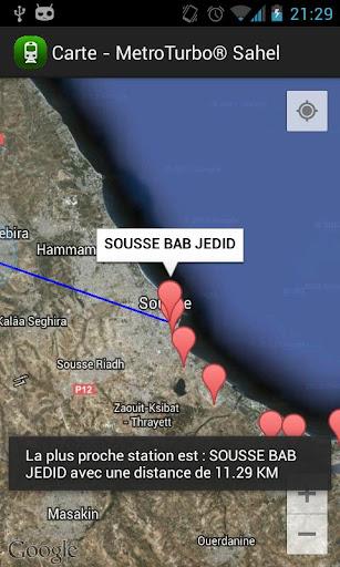 Metro Sahel Tunisia