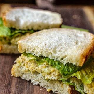 Chickpea of the Sea Sandwich.