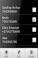 Screenshot of Full Screen Caller Image