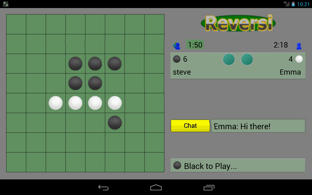 Reversi Online- screenshot