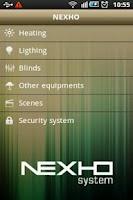 Screenshot of Nexho