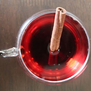 Mulled Pomegranate 'Wine'