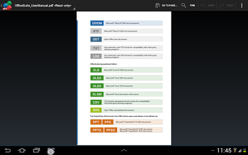 OfficeSuite Pro + PDF Screenshot 39