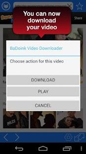 玩免費遊戲APP|下載BaDoink Video Downloader app不用錢|硬是要APP