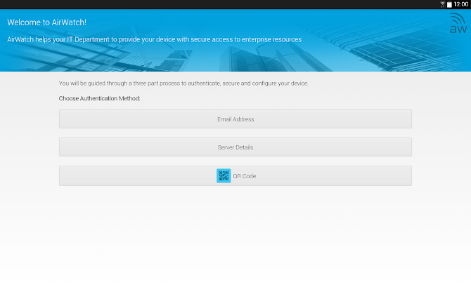 AirWatch Agent Android 5