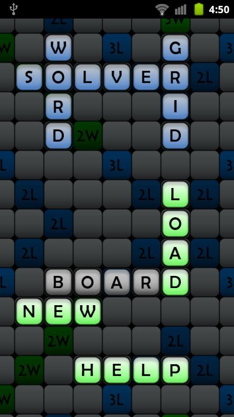 Word Grid Solver- screenshot