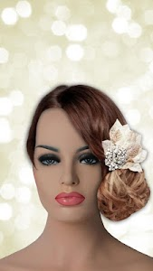 Wedding Hairstyles Photo Maker screenshot 0