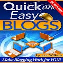 Quick and Easy Blogs Preview logo