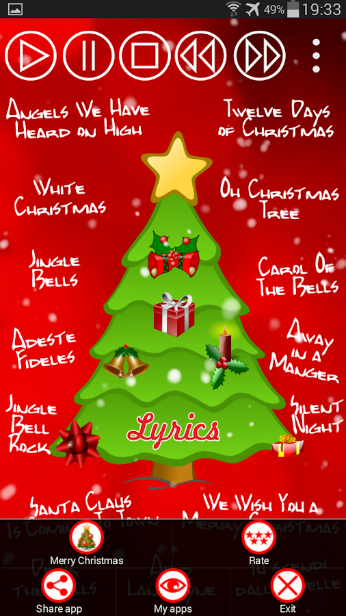Christmas Songs - Android Apps on Google Play
