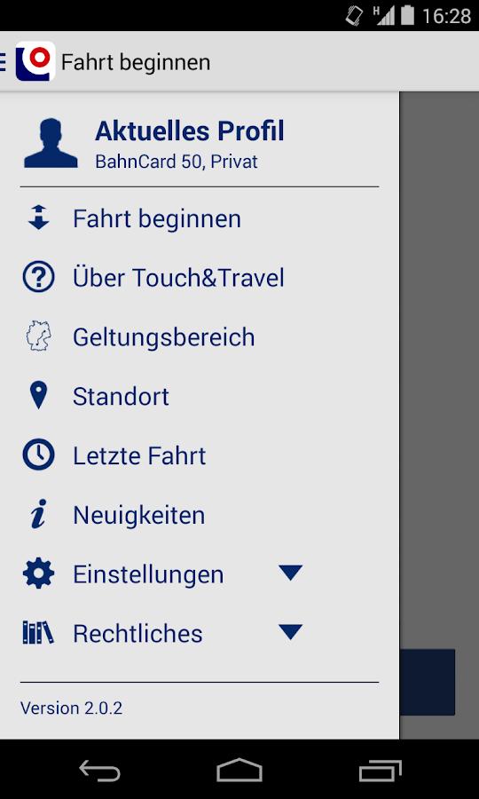 Touch&Travel- screenshot