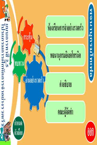 油漆式速記法-托福字彙 泰文版