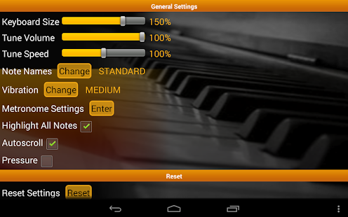 Piano Scales & Chords Pro Screenshot