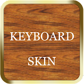 Gold & Wood Keyboard Skin