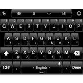 Theme TouchPal Dusk Pure Black