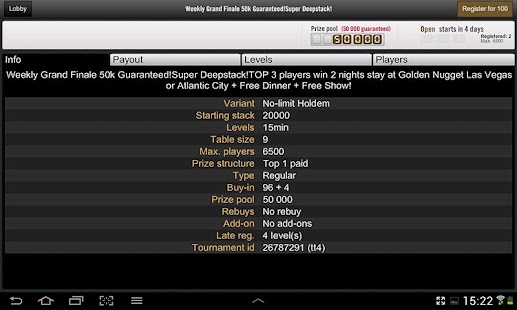 Golden Nugget Poker- screenshot thumbnail