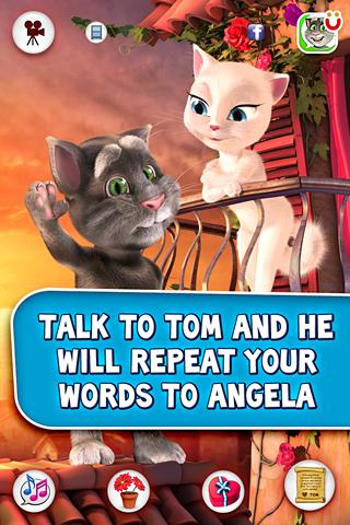 Tom ama Angela - screenshot